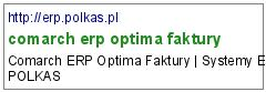 comarch erp optima faktury
